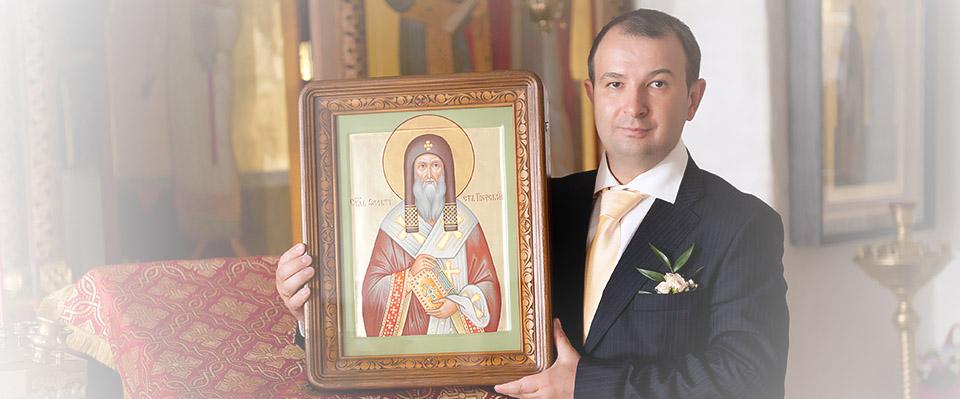 Иконописная мастерская Игоря Маркова